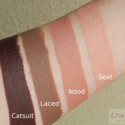 melt nood collection review swatches