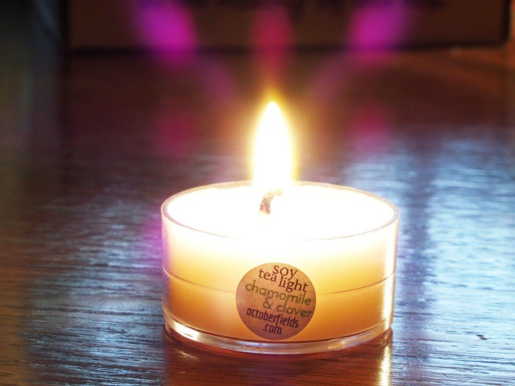 october fields soy candle review
