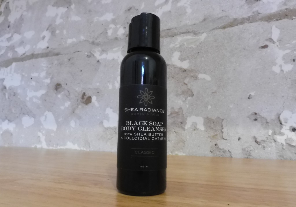 shea radiance black soap body wash review