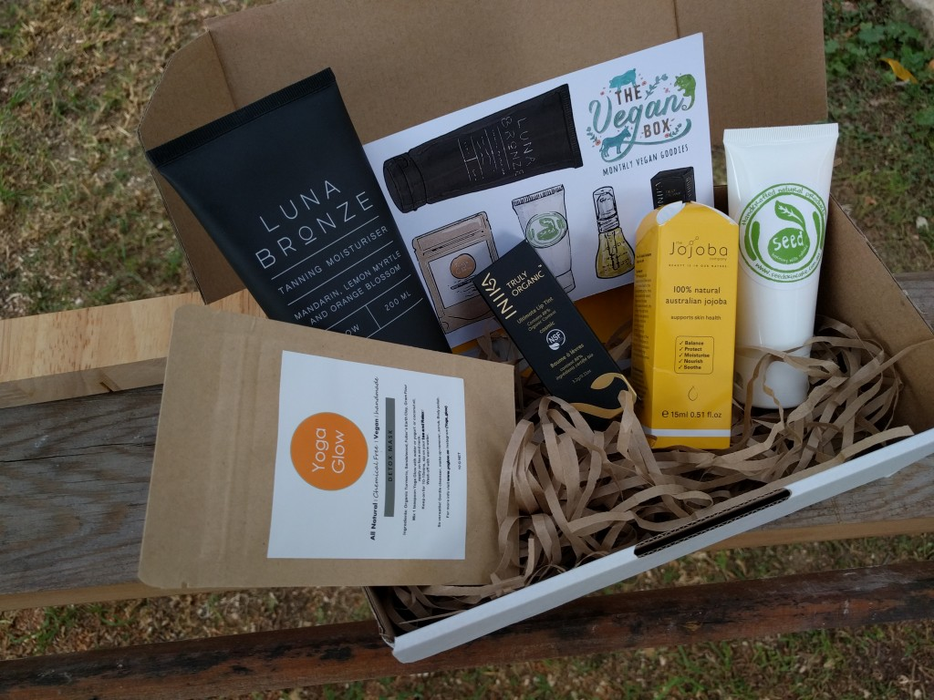 vegan box april beauty box review